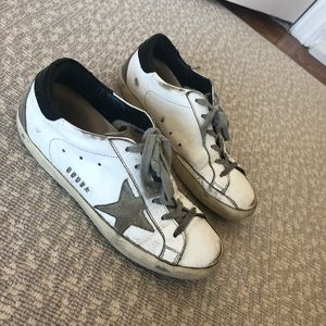 Golden Goose Superstar Sneakers White